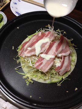 お好み焼き(豚肉)