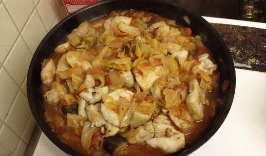 チキンのトマト煮(戻す)
