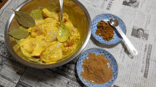 チキンカレー(材料)