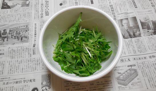 水菜(ボウル)