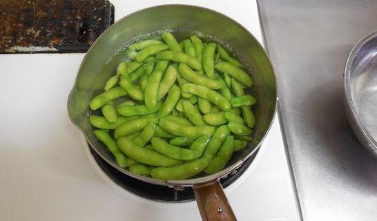 枝豆(ゆでる)