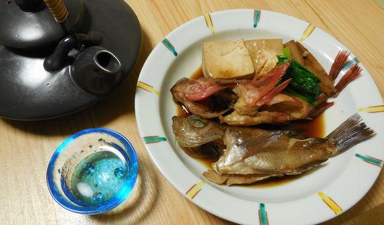 煮付け(メバル、カサゴ)