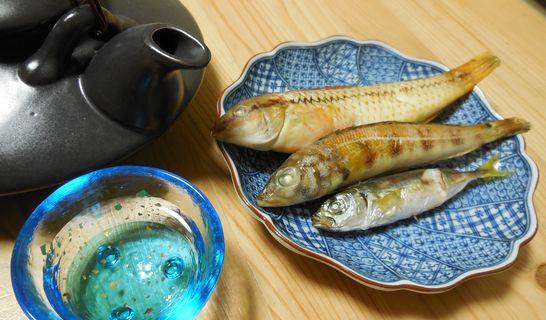 塩焼き(ギザミ、トラハゼ、アジ)