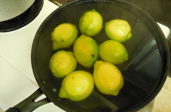 レモン(お湯に浸ける)