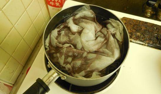 黒豆(キッチンペーパー)