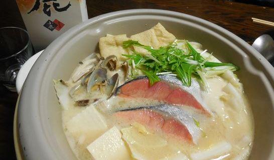 白みそ海鮮鍋