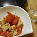 トマトと豆腐とちりめんのサラダ