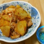 冬瓜の豚キムチ