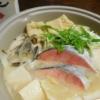 白みそ仕立ての魚介鍋